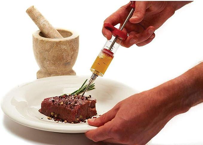 Carne Sabor Inyector,Jeringuilla para Marinar,Jeringa De ...