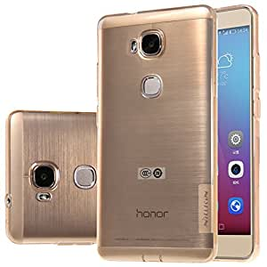 Huawei Honor 5X Case, Nillkin Nature Series TPU Case Back Cover [Transparent Thin Soft] for Huawei Honor 5X - Brown