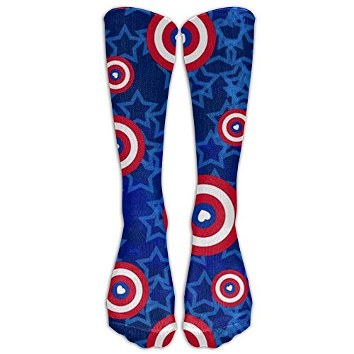 Hot Superhero Love Tiny But Mighty Compression Socks For Women And Men - Best Medical, Nursing, Travel & Flight -