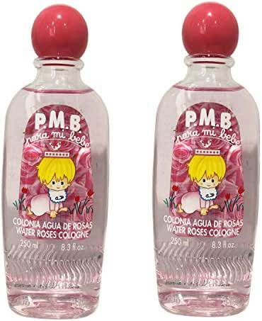 PMB Water Roses Cologne 8.3 Fl oz (Pack of 2)