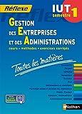 Toutes les matières IUT Gestion des entreprises et des administrations - Semestre 1