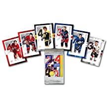 Set of 6 unique souvenir stamps recognizes Canadian defencemen from the Original Six NHL hockey teams. Bobby Orr, Pierre Pilote, Red Kelly, Doug Harvey, Harry Howell and Tim Horton were among the great Hockey Players