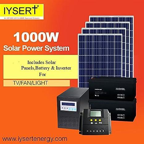 IYSERT 1 KW Solar Power System
