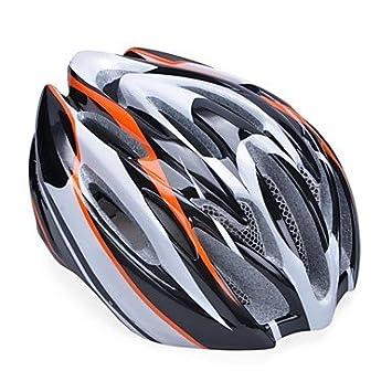Modo y transpiración unisex gran pc epp-Casco de bicicleta con Parasol separable ()