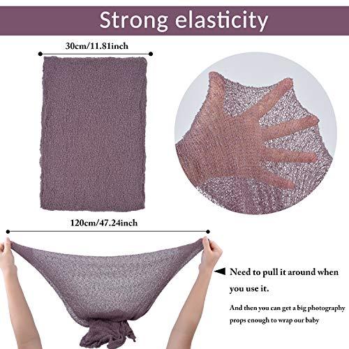 759d07acb4b Aniwon 2Pcs Baby Photo Props Long Ripple Wraps DIY Blanket Newborn Wraps  Photography Mat for Baby