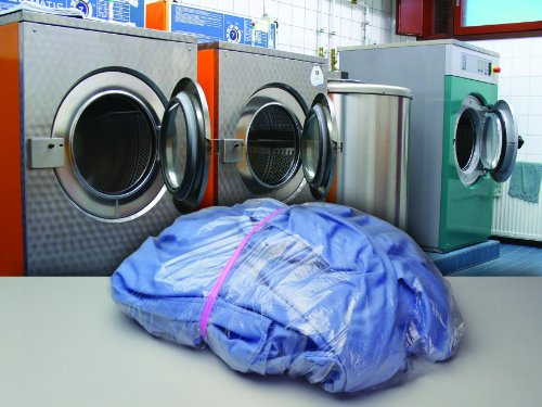 26 x 33'' .8 Mil Dissolvable Bed Bug Laundry Bags (100 Bags) - Elkay Plastics WSB2633 by Miller Supply Inc