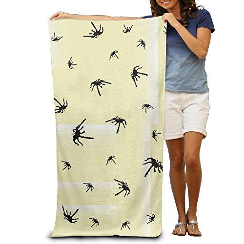 Beach Towel Spider Microfiber (Halloween Spider Web Clipart)