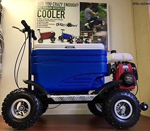 Price comparison product image Crazy Coolers Blue Motorized Cooler ASSEMBLED