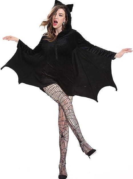 Joyibay Disfraz De Murciélago De Halloween Cosplay Sexy Y Sexy con ...