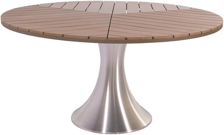 Amazon De Gartentisch Sofia Rund Ca 150 Cm Durchmesser Dining