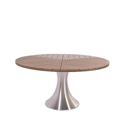 Gartentisch Rund 150 Cm Durchmesser.Amazon De Gartentisch Sofia Rund Ca 150 Cm Durchmesser