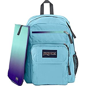 JanSport Unisex Digital Student Multi Ice/Ice Baby Backpack