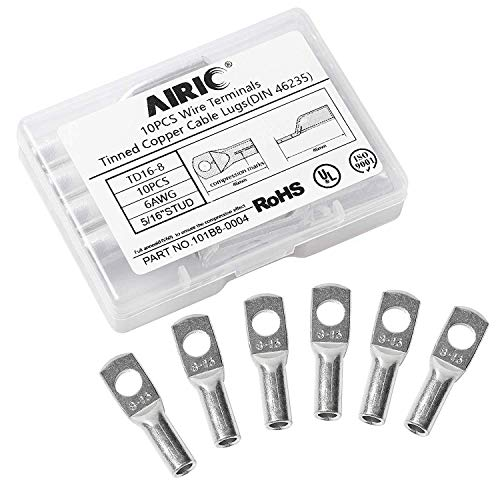 AIRIC 10PCS 6 Gauge 5/16