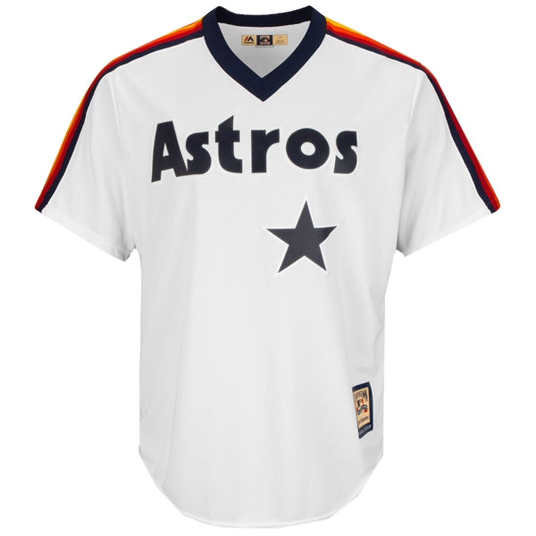 get cheap 27009 b029b Majestic Jeff Bagwell Houston Astros Cooperstown Cool Base Replica White  Jersey