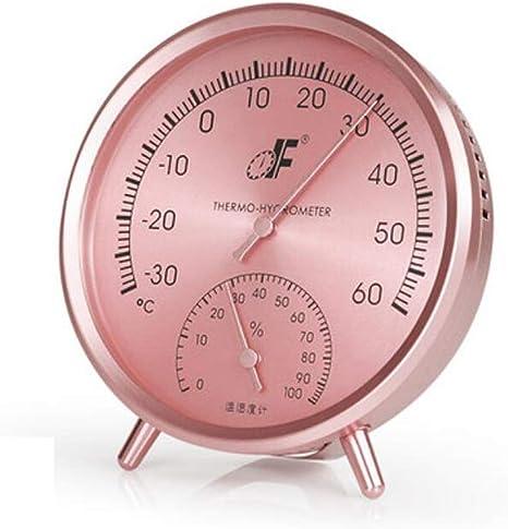 Higrometro Digital Termometro Higrometro Digital Relojes Jardin Hogar Higrómetro Doméstico Medidor De Temperatura Y Humedad Interior Cuarto De Bebé Almacén De Acero Inoxidable: Amazon.es: Bebé