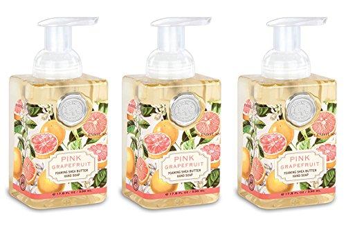(Michel Design Works Foaming Hand Soap, 17.8-Ounce, Pink Grapefruit - 3-PACK)