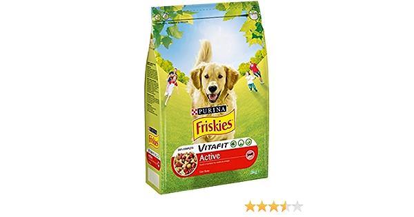 Purina Friskies Vitafit Active Pienso para Perro Adulto Buey ...