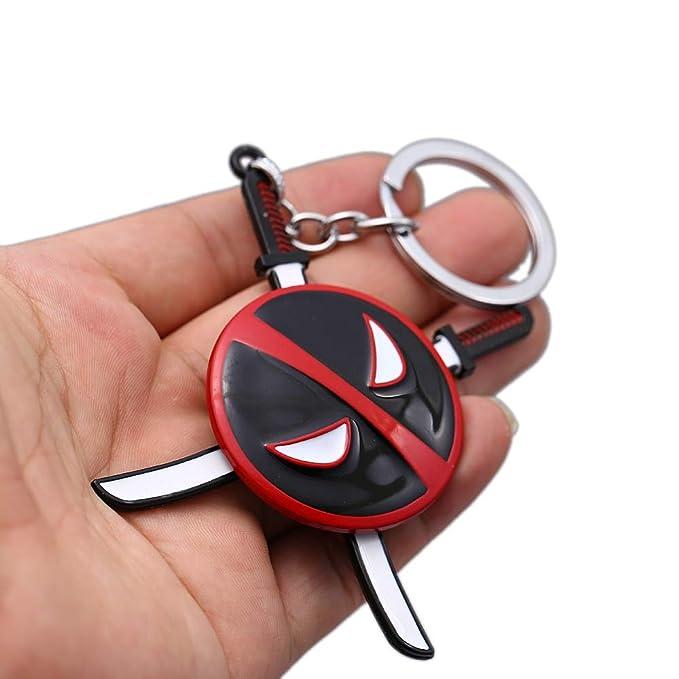 Algol - Deadpool 2 Keychain Kolye Rotate Pendant Necklace ...