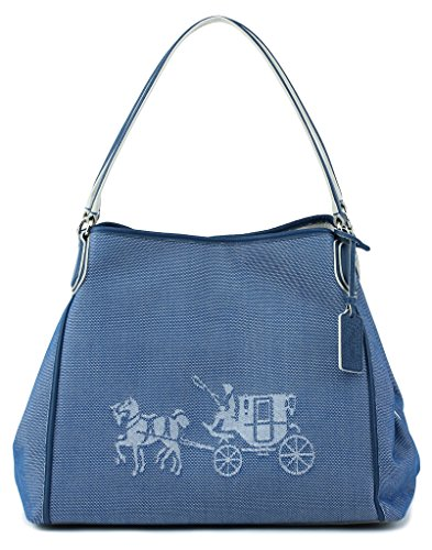 Coach Embossed Carriage Shoulder 35344