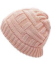 SWEDREAM Hästsvans mössa mössa vinter varm stickad mössor utomhus döskallar hattar baseballkeps stökig bulle hatt huvudbonad för kvinnor