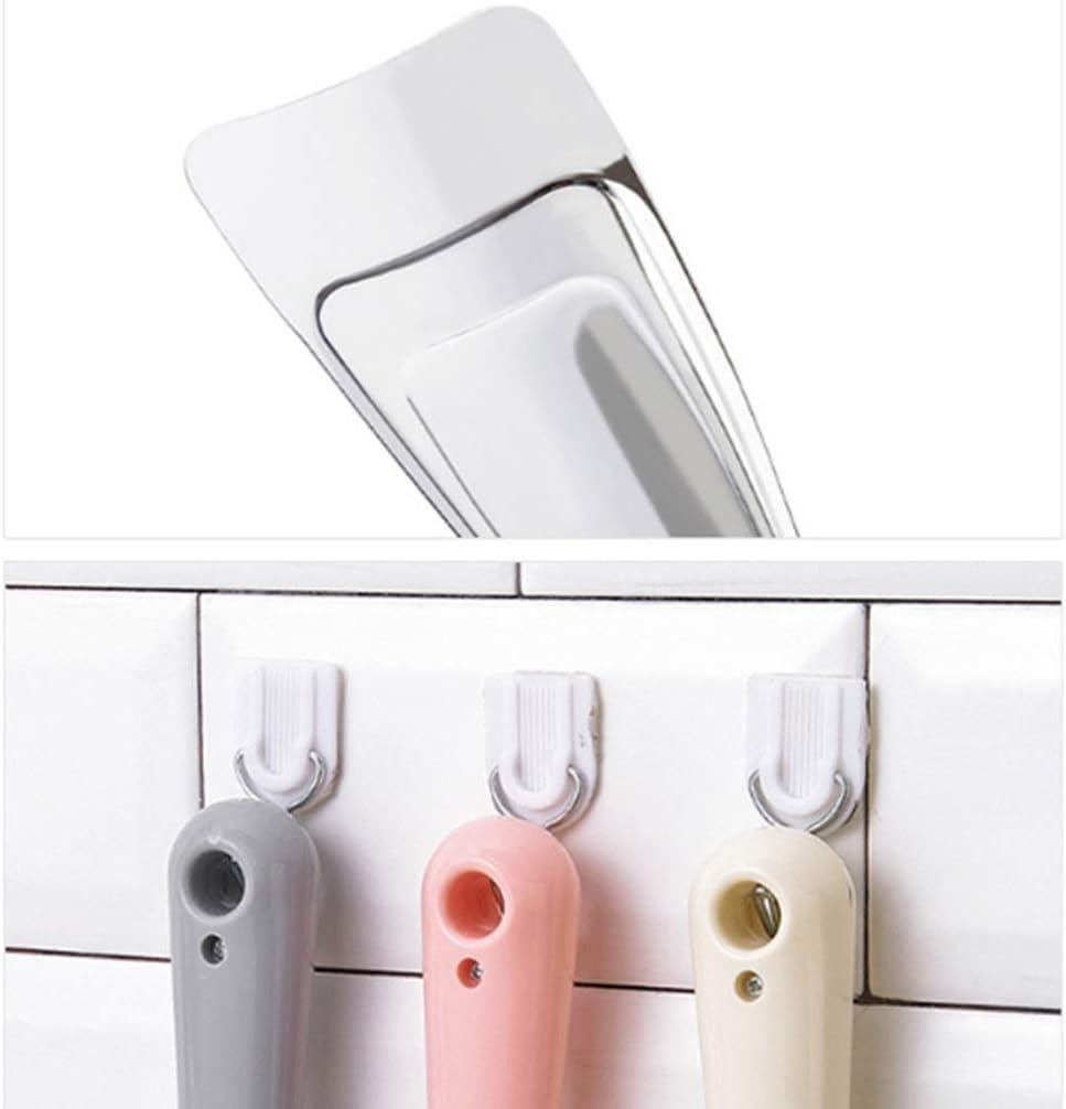 peque/ño limpiador de hielo con asa congelador color beige beige rascador de hielo de acero inoxidable Rascador de hielo UPKOCH para frigor/ífico