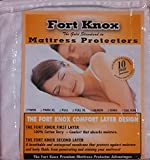 "Fort Knox Premium Cotton Terry Waterproof Allergy Protecting Mattress Cover (Crib 27"" X 52"")"
