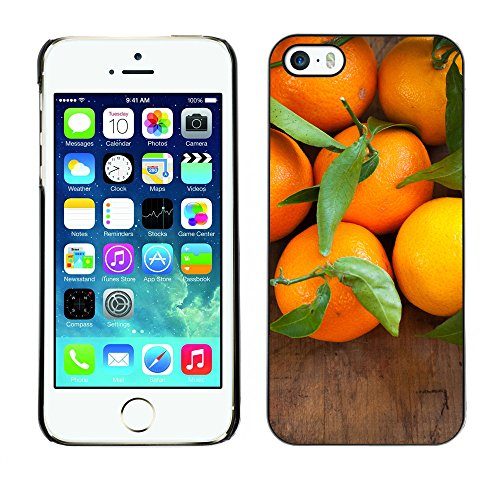 Premio Sottile Slim Cassa Custodia Case Cover Shell // F00007376 Orange // Apple iPhone 5 5S 5G