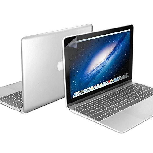 Price comparison product image GMYLE Plastic Hard Case Shell with Keyboard Cover with Screen Protector for MacBook 12 Inch with Retina Display A1534 (Newest Version 2017 / 2016 / 2015),  Clear