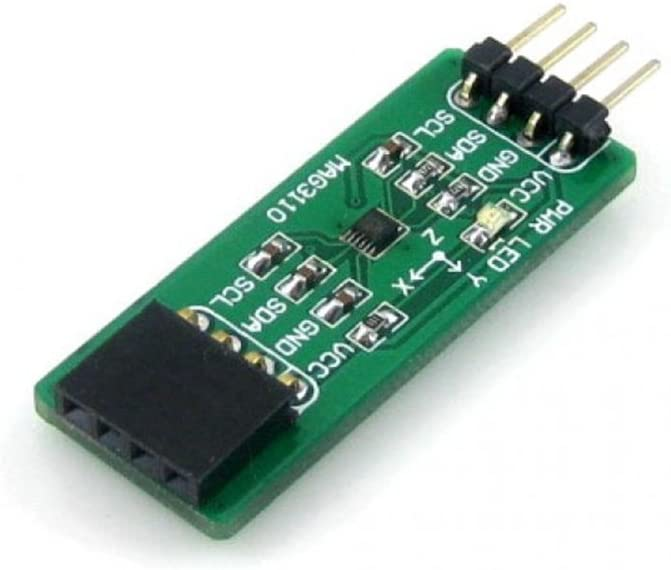 DaoRier MAG3110 3-Axis Digital Magnetometer for Measuring Magnetic Fields Sensor Module with I2C Interface