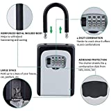 House Key Lock Box with Code Spare Key Lock Box