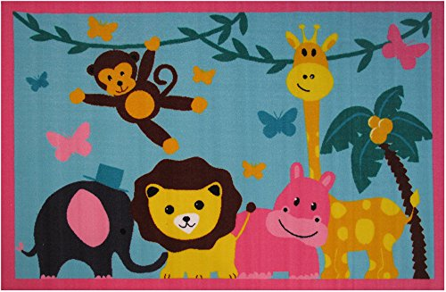 Fun Rugs Fun Time Jungle Party Novelty Rug, 39 x (Jungle Carpet)