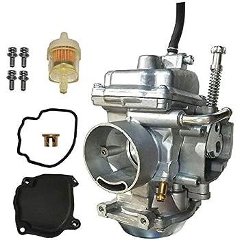 Amazon com: SUNROAD Replacement Carburetor for Polaris Polaris 1995