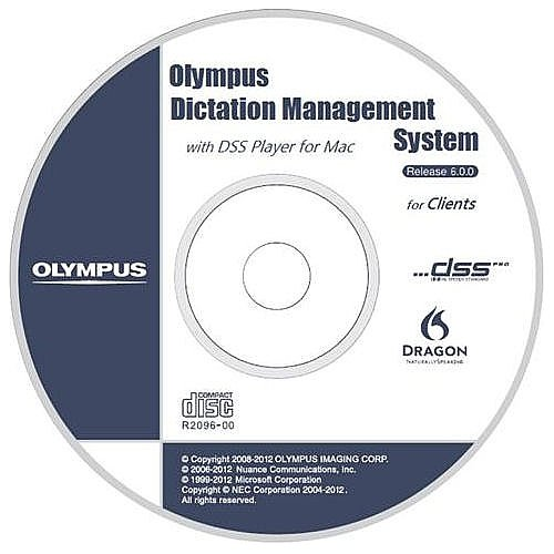 Olympus AS7001 DSS PRO Olympus Dictation Management System (ODMS) R6 Module Software and License by Olympus