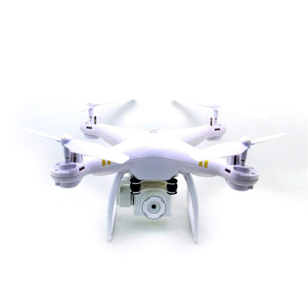 Jannyshop 5G WiFi FPV Drone 5.0MP HD 110 Grados Cámara Gran Angular 1080P 4GHz 6 Ejes Gyro RC Quadcopter Blanco