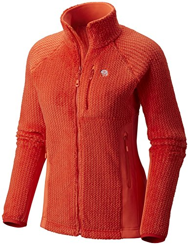 Mountain Hardwear Women's Monkey Woman Pro Jacket, Fiery Red, Bright Ember, XS (Mountain Hardwear Monkey Woman Jacket)