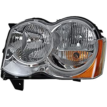 Genuine Chrysler Parts 55079379AD Driver Side Headlight Assembly Composite