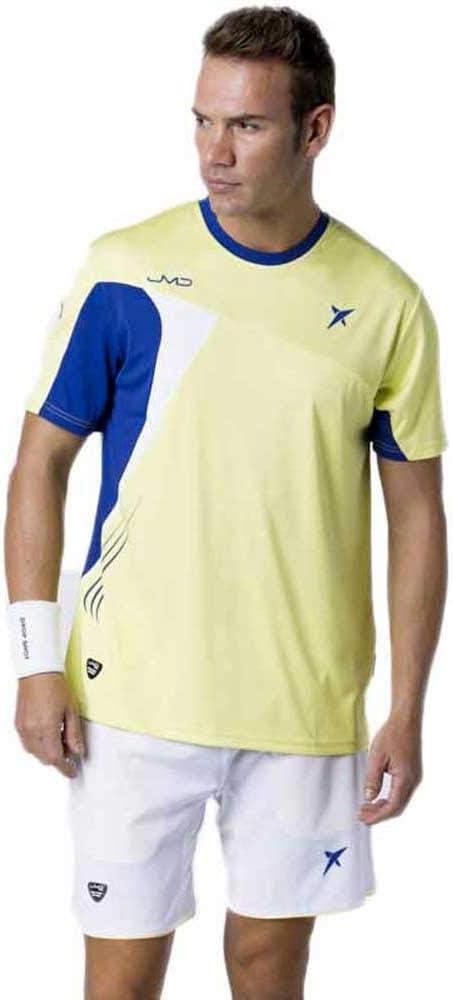 DROP SHOT - T Shirt Pro Elite Jmd, Color Amarillo, Talla S