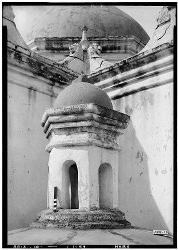 Photo: San Xavier del Bac Mission,Mission Road,Tucson,Pima County,Arizona,AZ,HABS,50