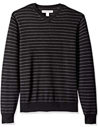 Men's V-Neck Stripe Sweater