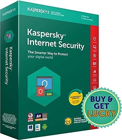Kaspersky Internet Security 2 Users, 2 Years (Single Key) (CD)