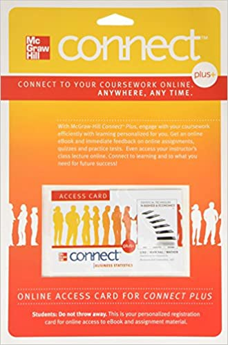 Connect access card for statistical techniques in business and connect access card for statistical techniques in business and economics 15th edition fandeluxe Gallery