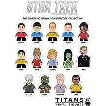 "Star Trek Where No Man Has Gone Before Collection 3"" Vinyl Mini-Figure Display Box of 20 Titans"