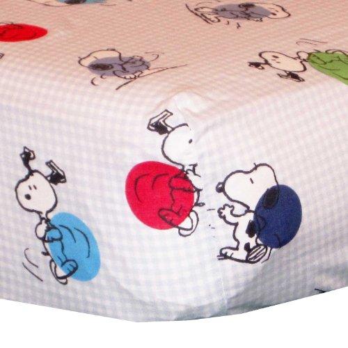 Bedtime Originals Hip Hop Snoopy 3 Piece Crib Bedding Set
