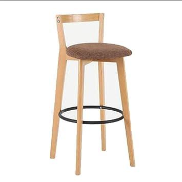 Marvelous Af Uk Bar Chair Modern Simple Solid Wood Bar Stool High Back Dailytribune Chair Design For Home Dailytribuneorg
