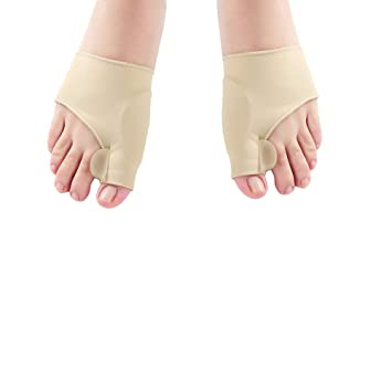 Healifty 1 Pair Big Toe Bunion Corrector Hallux Valgus Corrector Splint Big Toes Straighteners Pain Relief
