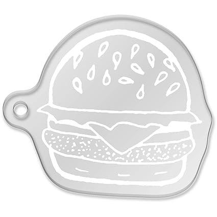 Azeeda Hamburguesa con Queso Llavero Grande (AK00053112 ...
