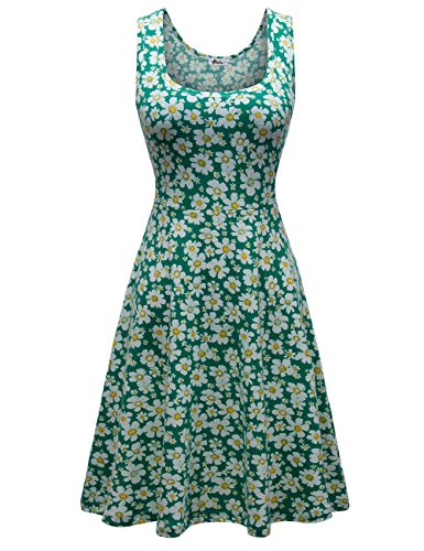 Herou Floral Dresses for Women Casual Flower-3 Large