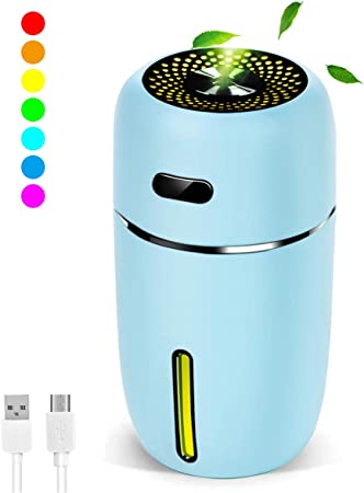 Ethic Mini Portable Wood Aromatherapy Humidifier Office Desktop Home Travel Water Spray Mist Humidif