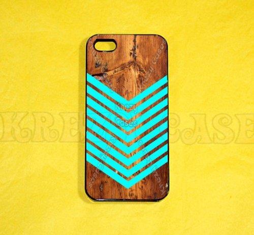 Arrow iPhone 5c case, iPhone 5c case, Arrow iPhone case, Teal color Arrow iphone 5c case on wood print, iPhone...
