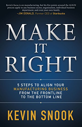 Read Make It Right: 5 Steps to Align Your Manufacturing Business from the Frontline to the Bottom Line<br />[T.X.T]